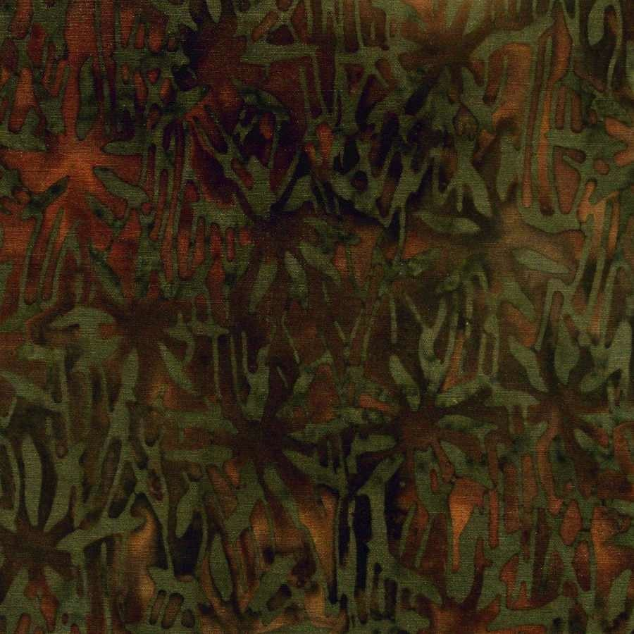 Jungle Moss Brown Fabric