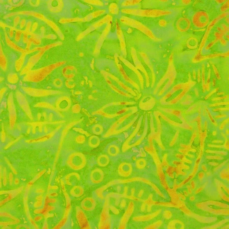Passion Fruit Green Fabric