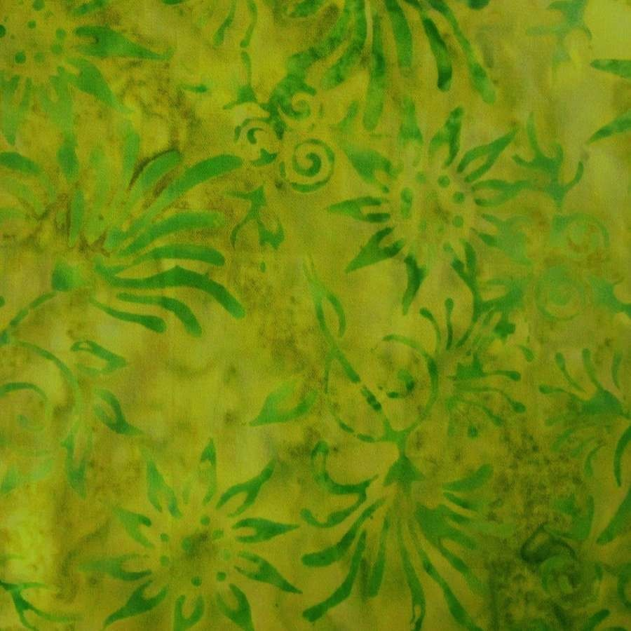 Twisted Lime Green Fabric