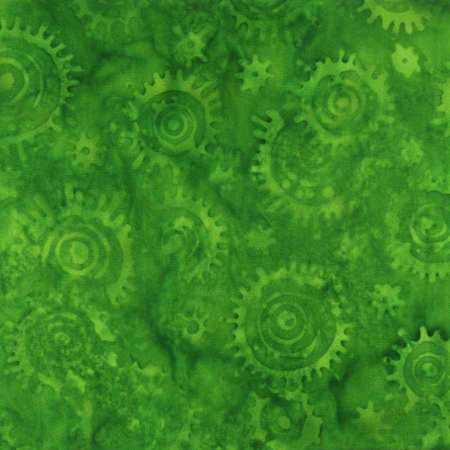 Tropical Punch Green Fabric